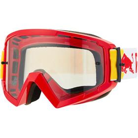 Red Bull SPECT Whip Occhiali a Maschera con protezione per il naso, bianco/rosso